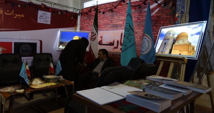 فانوس کم نور گردشگری در نمایشگاه مطبوعات