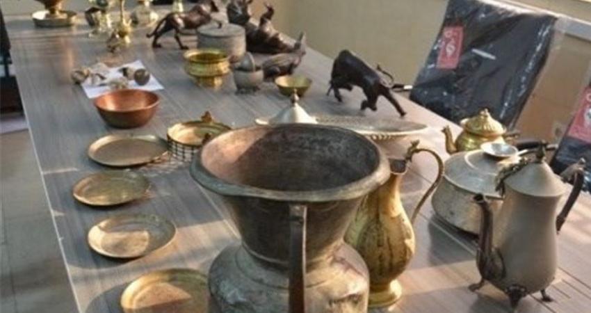 کشف 190 شیء تاریخی در استان کرمانشاه