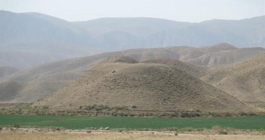 کشف آثاری از دوره مفرغ در مسیر حوضه آبریز رودخانه اترک