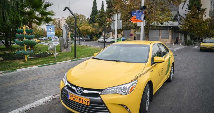 ورود تاکسی «بنزینی-الکتریکی» به تهران