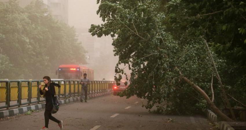 طوفان از سه شنبه برخی مناطق را فرا می گیرد