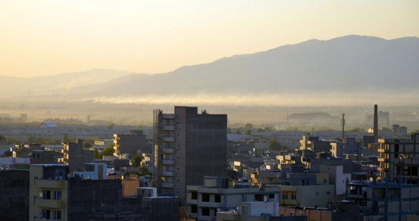 آلودگی هوای تبریز در وضعیت هشدار