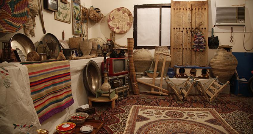 راه اندازی موزه مردم شناسی در منزل