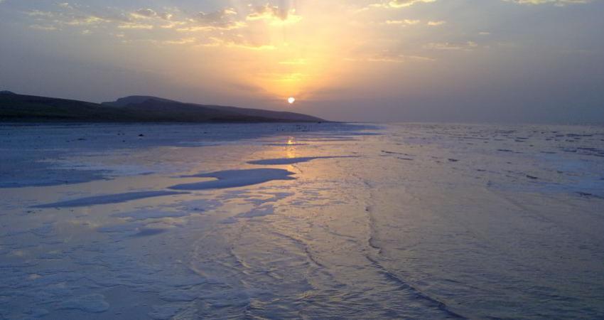 هفتصد کیلومتر مربع از بستر دریاچه ارومیه دوباره زیر آب رفت