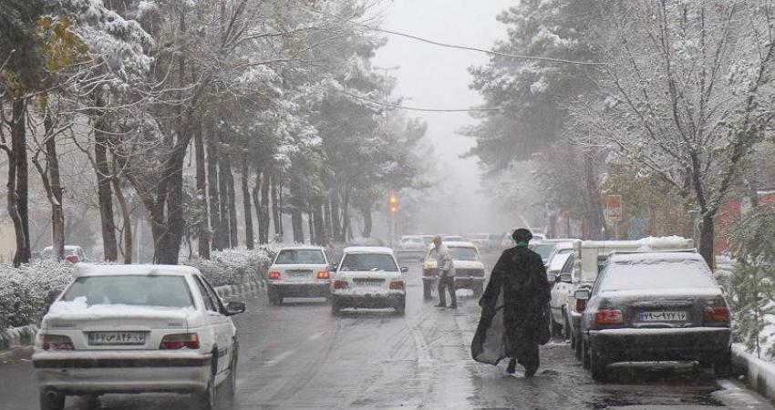 بارش برف در استان های البرز، خراسان شمالی و رضوی