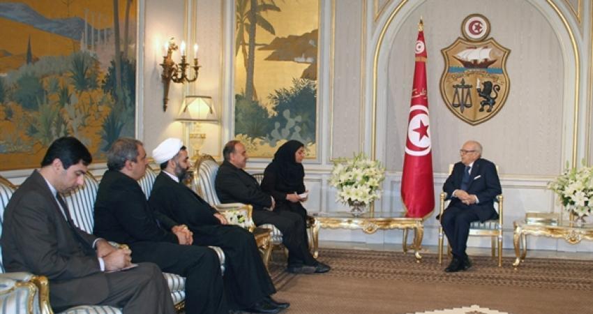 دیدار سلطانی فر با رئیس جمهوری تونس