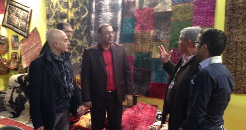 استقبال از هنرهای سنتی ایران در نمایشگاه آرتی جی آنا 2015 میلان