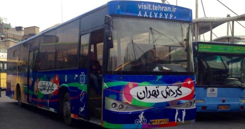 اتوبوس های گردشگری تهران ساماندهی می شود