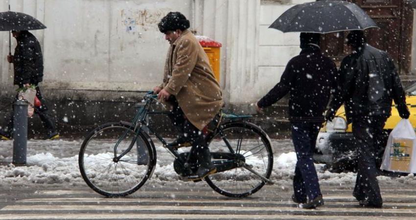 باران و برف در راه است