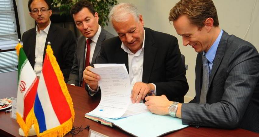 امضای قرارداد فرودگاه امام با شرکت ناکو هلند