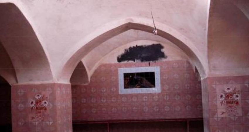 حمام تاریخی شهر باباحیدر ویران شد