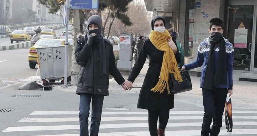 نفس های مردم شهر از آلودگی هوا در تهران به شمارش افتاده است